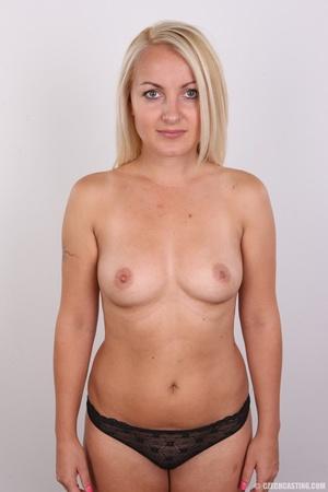 Blonde with tattoo above sweet butt show - XXX Dessert - Picture 11