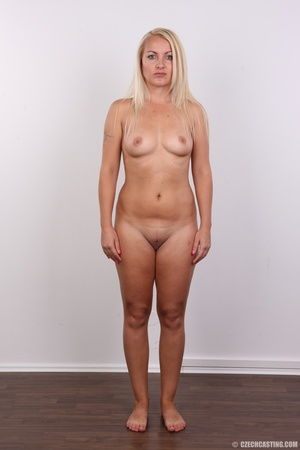 Blonde with tattoo above sweet butt show - XXX Dessert - Picture 14