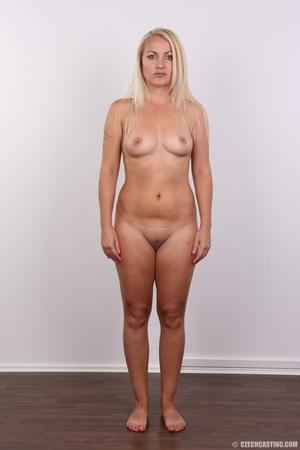 Blonde with tattoo above sweet butt show - XXX Dessert - Picture 14