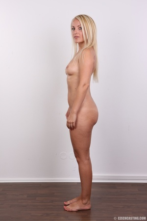 Blonde with tattoo above sweet butt show - XXX Dessert - Picture 15