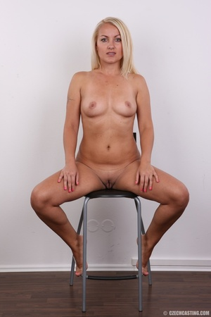 Blonde with tattoo above sweet butt show - XXX Dessert - Picture 19