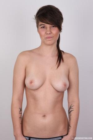 Seductive young brunette shows big tits, - XXX Dessert - Picture 11