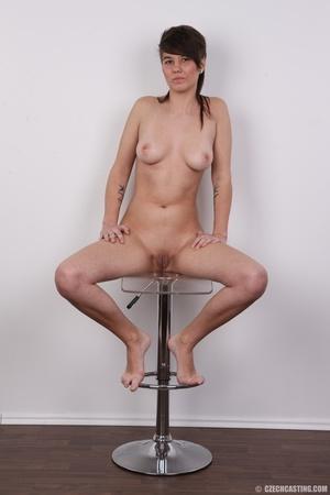 Seductive young brunette shows big tits, - XXX Dessert - Picture 19