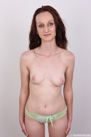 Slim petite cute redhead with small tits - XXX Dessert - Picture 11