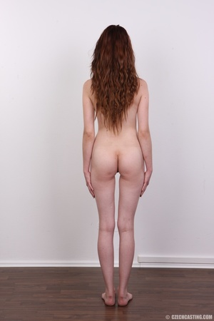 Slim petite cute redhead with small tits - XXX Dessert - Picture 16