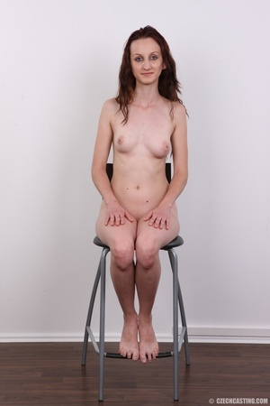 Slim petite cute redhead with small tits - XXX Dessert - Picture 18