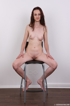 Slim petite cute redhead with small tits - XXX Dessert - Picture 19