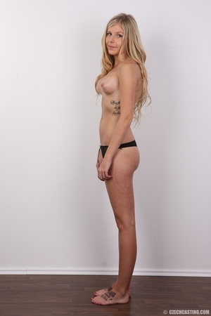 Sweet lusty blonde with sexy eyes shows  - XXX Dessert - Picture 9