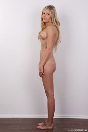 Sweet lusty blonde with sexy eyes shows  - XXX Dessert - Picture 14