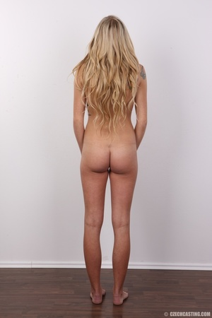 Sweet lusty blonde with sexy eyes shows  - XXX Dessert - Picture 15
