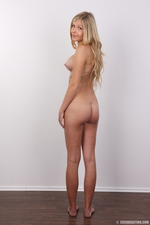 Sweet lusty blonde with sexy eyes shows  - XXX Dessert - Picture 16