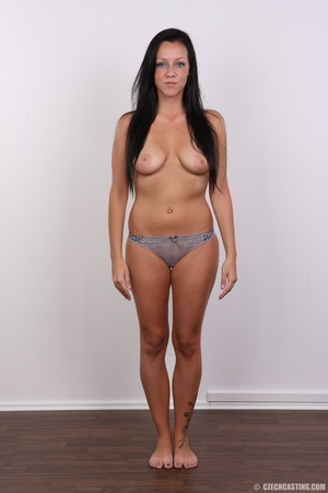 Sexy untamed dark hair beauty with perky - XXX Dessert - Picture 8