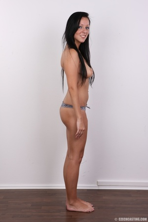 Sexy untamed dark hair beauty with perky - XXX Dessert - Picture 9