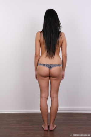Sexy untamed dark hair beauty with perky - XXX Dessert - Picture 10