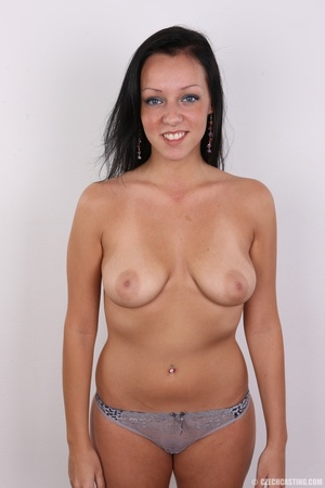 Sexy untamed dark hair beauty with perky - XXX Dessert - Picture 11