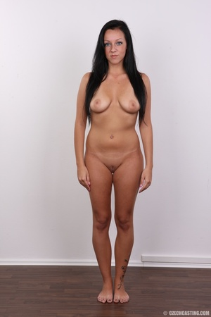 Sexy untamed dark hair beauty with perky - XXX Dessert - Picture 14