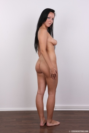 Sexy untamed dark hair beauty with perky - XXX Dessert - Picture 17