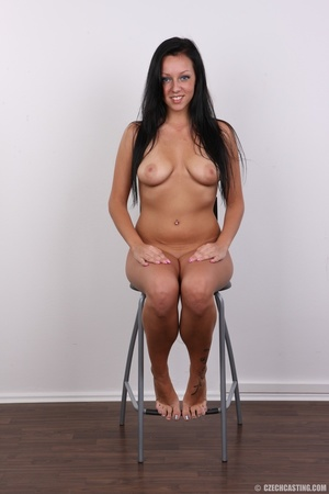 Sexy untamed dark hair beauty with perky - XXX Dessert - Picture 18