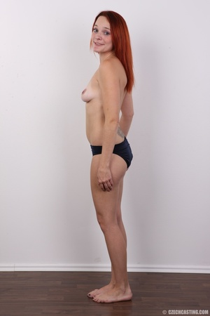 Tattooed redhead with fresh tits, sweet  - XXX Dessert - Picture 9
