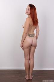 tattooed redhead with fresh
