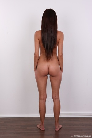 Petite sexy brunette chicks shows slim f - XXX Dessert - Picture 16