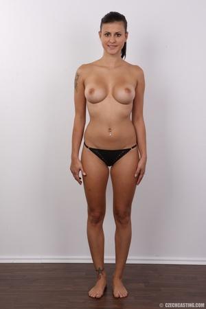 Slender seductive chick with big juicy t - XXX Dessert - Picture 9