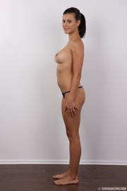slender seductive chick with