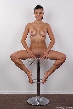 Slender seductive chick with big juicy t - XXX Dessert - Picture 19