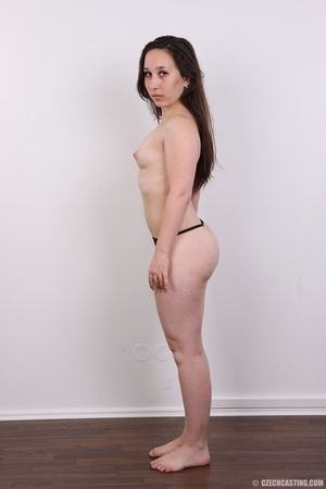 Petite cute chick strips to reveal hot b - XXX Dessert - Picture 8