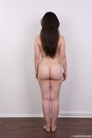 Petite cute chick strips to reveal hot b - XXX Dessert - Picture 12