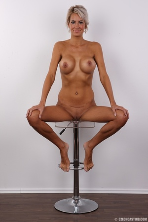 Lusty tanned blonde with perfect shaped  - XXX Dessert - Picture 19