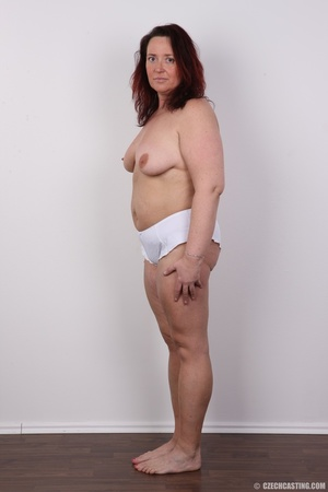 Chubby lusty redhead cute mama shows bou - XXX Dessert - Picture 12