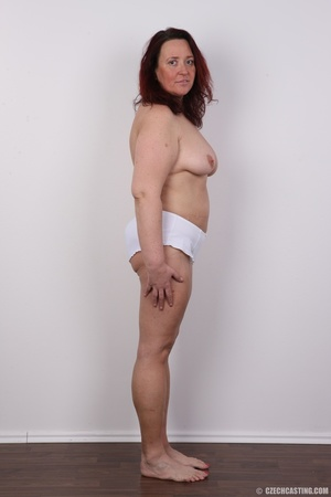 Chubby lusty redhead cute mama shows bou - XXX Dessert - Picture 14