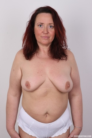 Chubby lusty redhead cute mama shows bou - XXX Dessert - Picture 15