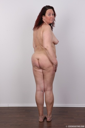 Chubby lusty redhead cute mama shows bou - XXX Dessert - Picture 22