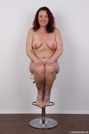 Chubby lusty redhead cute mama shows bou - XXX Dessert - Picture 23