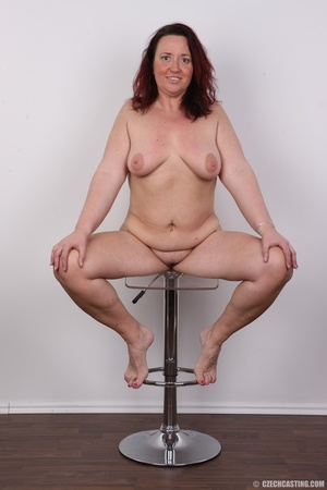 Chubby lusty redhead cute mama shows bou - XXX Dessert - Picture 24