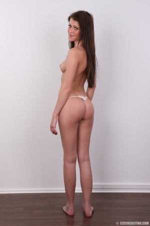 Young slender and gorgeous brunette with - XXX Dessert - Picture 13
