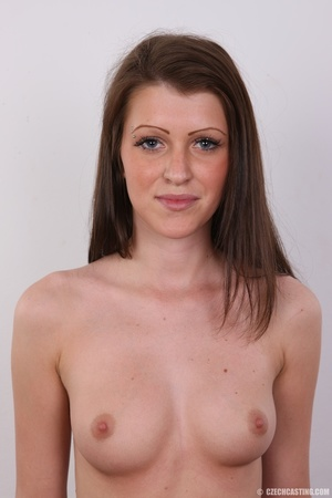 Young slender and gorgeous brunette with - XXX Dessert - Picture 15