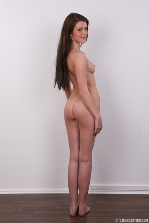 Young slender and gorgeous brunette with - XXX Dessert - Picture 22