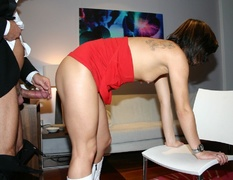blowjobs, old young, smoking, upskirt