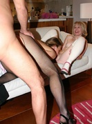 anal, old young, stockings, threesome ffm