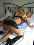 big tits, old young, stockings, threesome ffm
