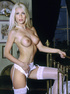 lusty blonde beauty with