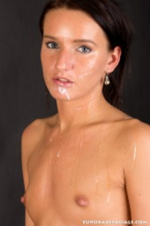 Flashy black haired beauty getting a big - XXX Dessert - Picture 11