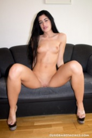 Horny black haired slut with lusciously  - XXX Dessert - Picture 6