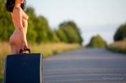sexy stranded traveler highway