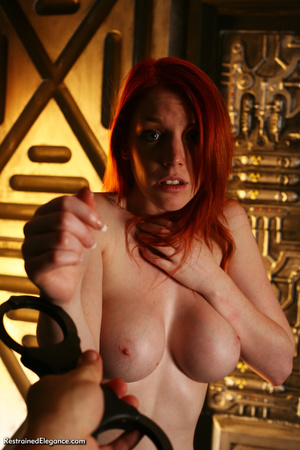 Pretty red head with sexy bouncy tits, h - XXX Dessert - Picture 1