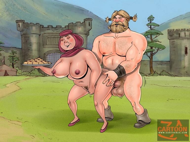 Wild cartoon sex