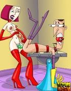 Hot toon femdom cartoon scenes